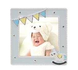 令和元年赤ちゃんスマイルキャンペーンの特典「ジュエルフレーム」(ポニー)