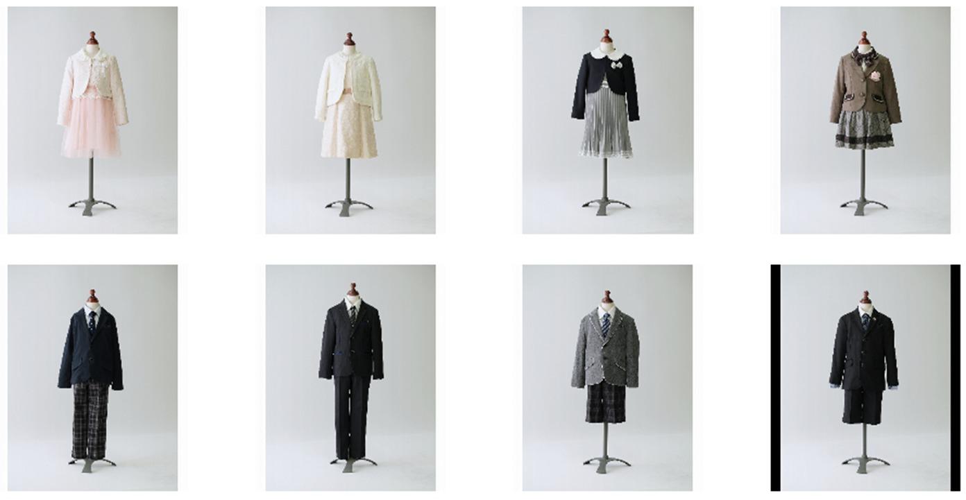 入学式用レンタル衣装一覧